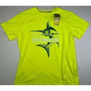 Under Armour Shirts - Under Armour Large Heat Gear Fishing T-Shirt NEW